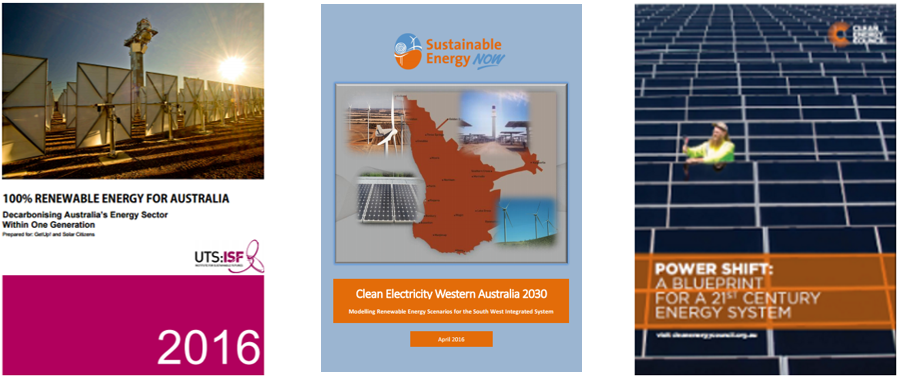Australia, You Can Lead! Renewable Energy Scenarios and How Business Benefits