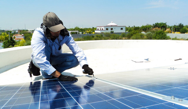 Cleaning requirements for solar panels are highly dependent on context, including the physical environment.