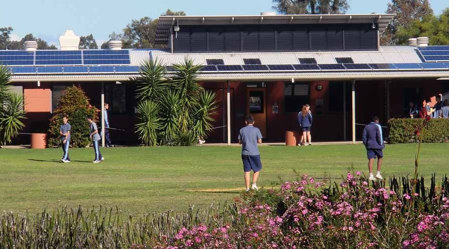 My school has solar! Thornlie Christian College sips from the sun