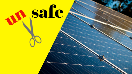 Stay safe this summer and be a good buyer: audit shows many rooftop solar panels are unsafe